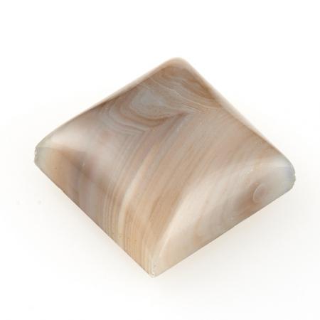 Кабошон агат серый  10*10 мм