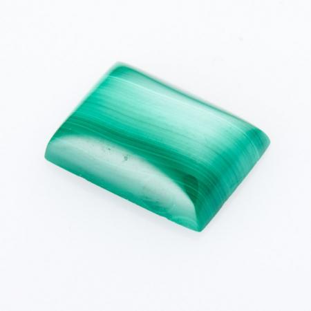 Кабошон малахит  10*14 мм