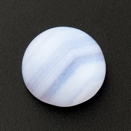 Кабошон агат голубой  8 мм